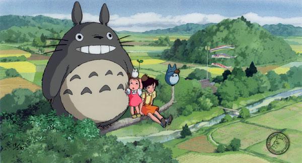 My Neighbor Totoro Cel Art